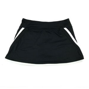 Nike Dri Fit Golf Tennis Skirt Skort Size L Black